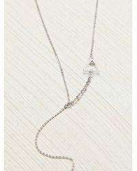 Free People | Metallic Lili Claspe Womens Deer Lovely Necklace | Lyst