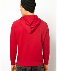 Pepe Jeans - Red Pepe Nino Hoodie for Men - Lyst