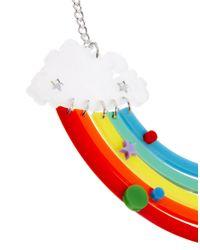 Tatty Devine - Red Rainbow Necklace - Lyst