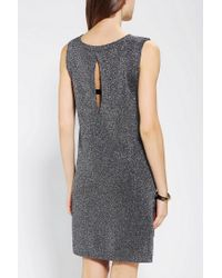 Urban Outfitters - Sparkle Fade Metallic Openstich Sweater Dress - Lyst