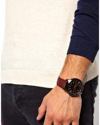 Kenneth Jay Lane - Purple Armani Exchange Watch Smart Suede Strap for Men - Lyst