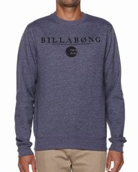 Billabong | Blue Striker Sweatshirt for Men | Lyst