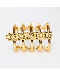 Jennifer Fisher - Metallic Vertebrae Cuff - Lyst