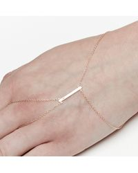 Loren Stewart | Yellow Diamond Bar Hand Bracelet | Lyst