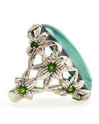 Stephen Dweck - Green Amethyst Delphinium Ring - Lyst