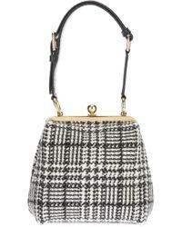 Dolce & Gabbana | Black Tweed Bag | Lyst