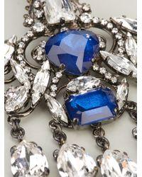 Erickson Beamon | Blue Chandelier Earrings | Lyst