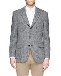J.Crew | Gray Ludlow Blazer In Herringbone English Tweed for Men | Lyst