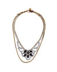 Lulu Frost - Black New Heirloom Necklace 4 - Lyst