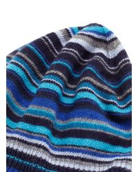 Paul Smith - Blue Mens Classic Striped Hat for Men - Lyst