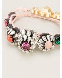 Shourouk - Multicolor Baraka Rococo Bracelet - Lyst