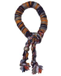 The Elder Statesman - Multicolor Cashmere Bracelet - Lyst