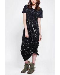 Urban Outfitters | Black Staring At Stars T-shirt Maxi Dress | Lyst
