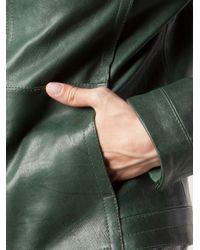 Beryll - Green Leather Jacket - Lyst