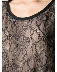 Diane von Furstenberg | Black Chrissie Silk Blouse | Lyst