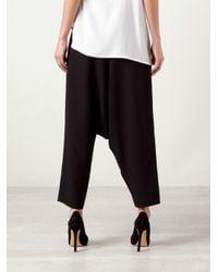 Jean Paul Knott | Black Silk Harem Skirt | Lyst