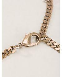 Rada' - Pink Crystal Embellished Necklace - Lyst