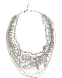 Tom Binns | Metallic Layered Necklace | Lyst