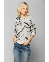 Urban Outfitters | Gray Your Eyes Lie Bird Flock Pullover Sweatshirt | Lyst