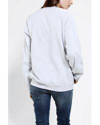 Urban Outfitters - Gray Ouija Skeleton Pullover Sweatshirt - Lyst