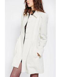 Urban Outfitters | White Jack By Bb Dakota Buckingham Lady Coat | Lyst