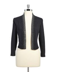 Calvin Klein | Black Gem Embedded Sweater | Lyst