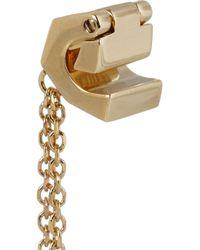Chloé - Metallic Babeth Goldplated Ear Cuff - Lyst