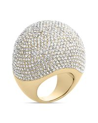 Michael Kors | Metallic Pave Bubble Ring | Lyst