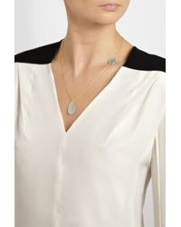 Pippa Small | Blue 18karat Gold Aquamarine Necklace | Lyst