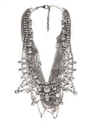 Tom Binns | Metallic Double Row Statement Necklace | Lyst