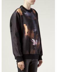 Givenchy | Black Doberman Print Sweatshirt | Lyst