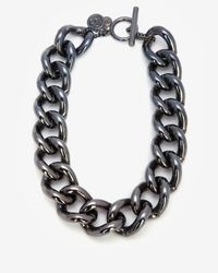Ben-Amun | Metallic Short Chain Link Necklace | Lyst