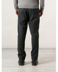 Giorgio Armani | Gray Drop Crotch Trouser for Men | Lyst