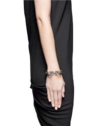 Givenchy - Metallic Layered Chain Bracelet - Lyst