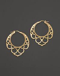 John Hardy - Metallic Naga 18K Yellow Gold Drop Earrings - Lyst