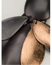Monies - Brown Unique Earrings - Lyst