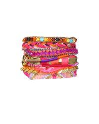 Hipanema | Pink Bracelet Hippie | Lyst