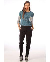 Leon & Harper - Black Pleated Trousers Sylvie Tw03 - Lyst