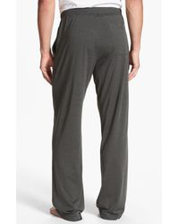 Daniel Buchler | Gray Silk Cotton Lounge Pants for Men | Lyst
