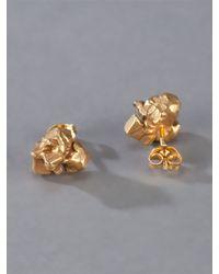Imogen Belfield | Metallic Little Drop Earrings | Lyst