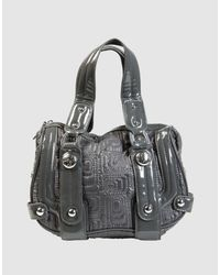 Miss Sixty - Gray Medium Fabric Bag - Lyst