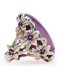 Stephen Dweck | Purple Agate Delphinium Ring | Lyst
