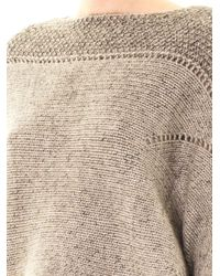 Helmut Lang - Gray Polar Bay Alpaca Blend Sweater - Lyst