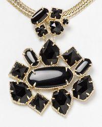Kendra Scott | Black Blakely Necklace 16 | Lyst