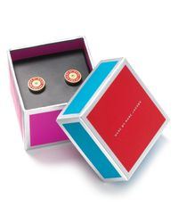 Marc By Marc Jacobs | Red Stud Earrings | Lyst