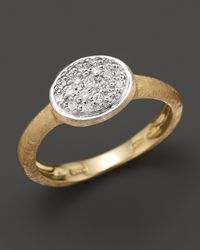 Marco Bicego | Yellow Siviglia Small Diamond Ring | Lyst