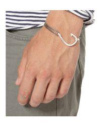 Miansai - Metallic Men's Anchor Silver Chain Bracelet for Men - Lyst