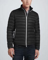 c26c2f711 Lyst - Moncler Acorus Lightweight Puffer Jacket in Black for Men