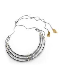 Henri Bendel | Metallic Tres Chic Necklace | Lyst