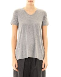 Theory | Gray Silvan Jersey T-Shirt | Lyst